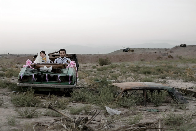 Gohar Dashti, Untitled, Modern Life and War series, 2008.