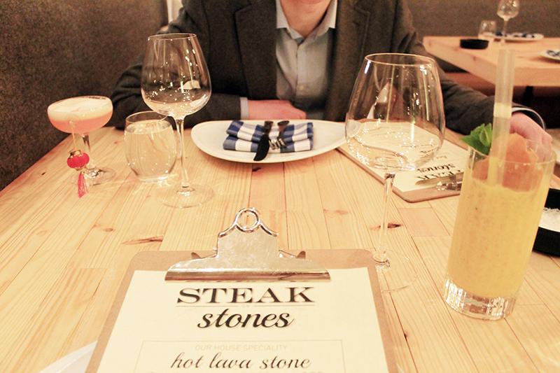 Steak on Stones Review Restaurant Edinburgh travel lifestyle blogger UK