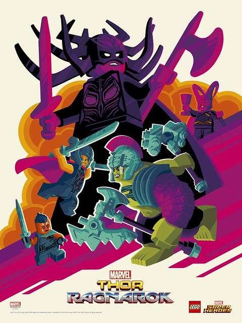 LEGO Marvel Super Heroes Thor: Ragnarok SDCC 2017