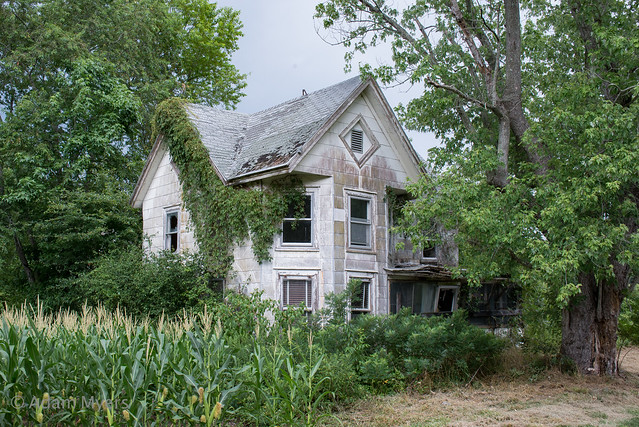 Abandoned house, vic. Dagsboro, Nikon D600, AF Zoom-Nikkor 28-200mm f/3.5-5.6G IF-ED