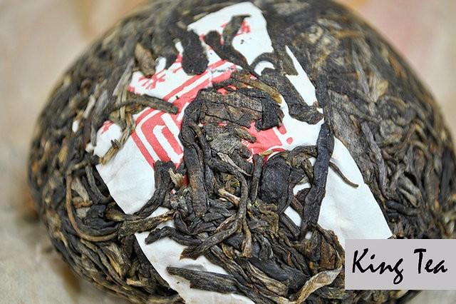Free Shipping 2012 XiaGuan Red Stamp Boxed Tuo 100g China YunNan KunMing Chinese Puer Puerh Raw Tea Sheng Cha