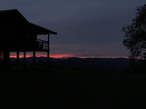 vermont ohana camp lodge sunset shotoniphone shotoniphone7plus