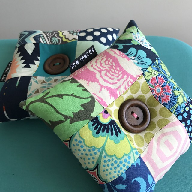 Patchwork Pincushions