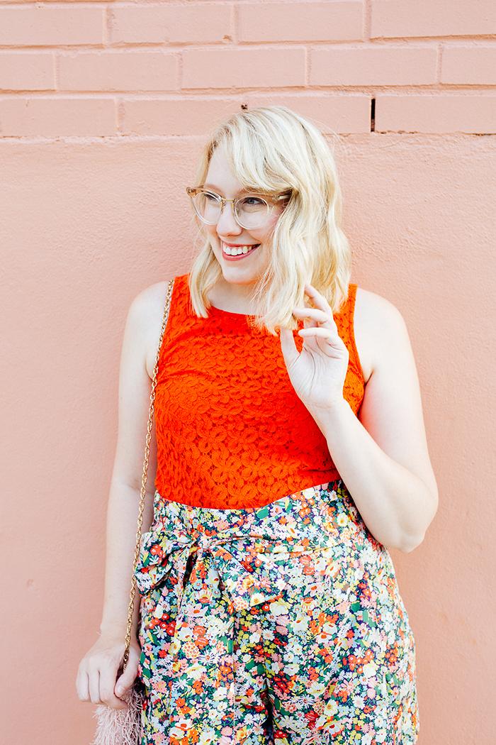austin style blogger writes like a girl jcrew liberty floral shorts15