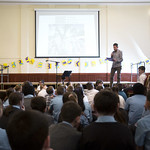 Mike Nicholson schools event | © Eoin Carey