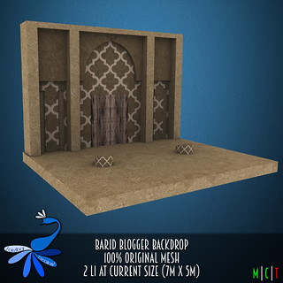 ZcZ Barid Blogger Backdrop