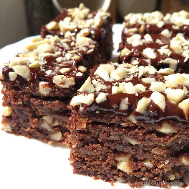 No-bake Protein Fudge Brownies