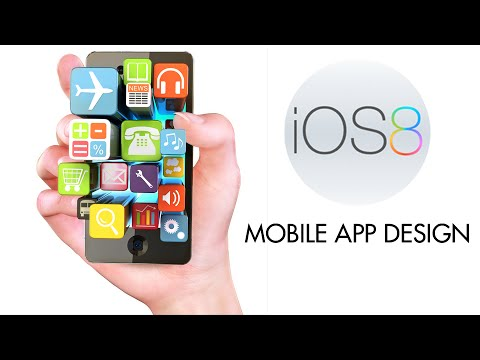 60iOS 8 Mobile App Design UI & UX Using Adobe Photoshop