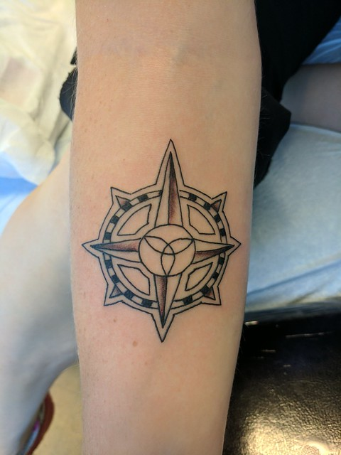 Compass Rose Tattoo