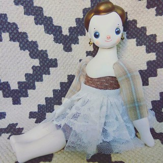 Little mori doll number 3/30-2017.