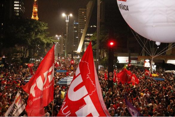 Manifestación por Elecciones Directas Ya, en São Paulo  - Créditos: Júlia Dolce