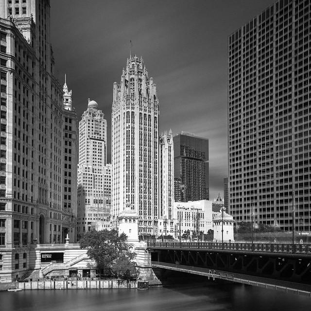 DuSable Bridge To Chicago Tribune