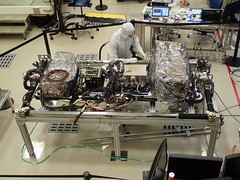GOES-T SUVI and EXIS Instruments Integrated with Spacecraft