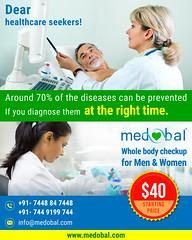 Whole Body checkup for Men & Women Starting price