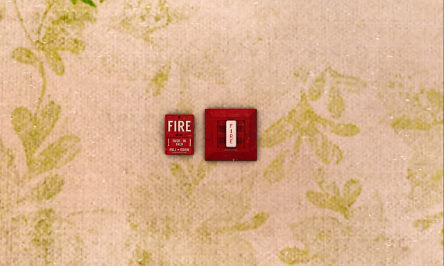 fire alarm in a Salisbury restaurant
