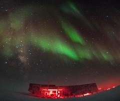 South Pole Station Panorama