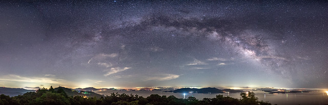 Star Arch, Sony ILCE-7M2, Sigma 20mm f/1.4 DG HSM | A