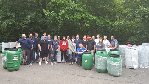 Rain Barrel Giveaway At Blue Heron Park, Staten Island