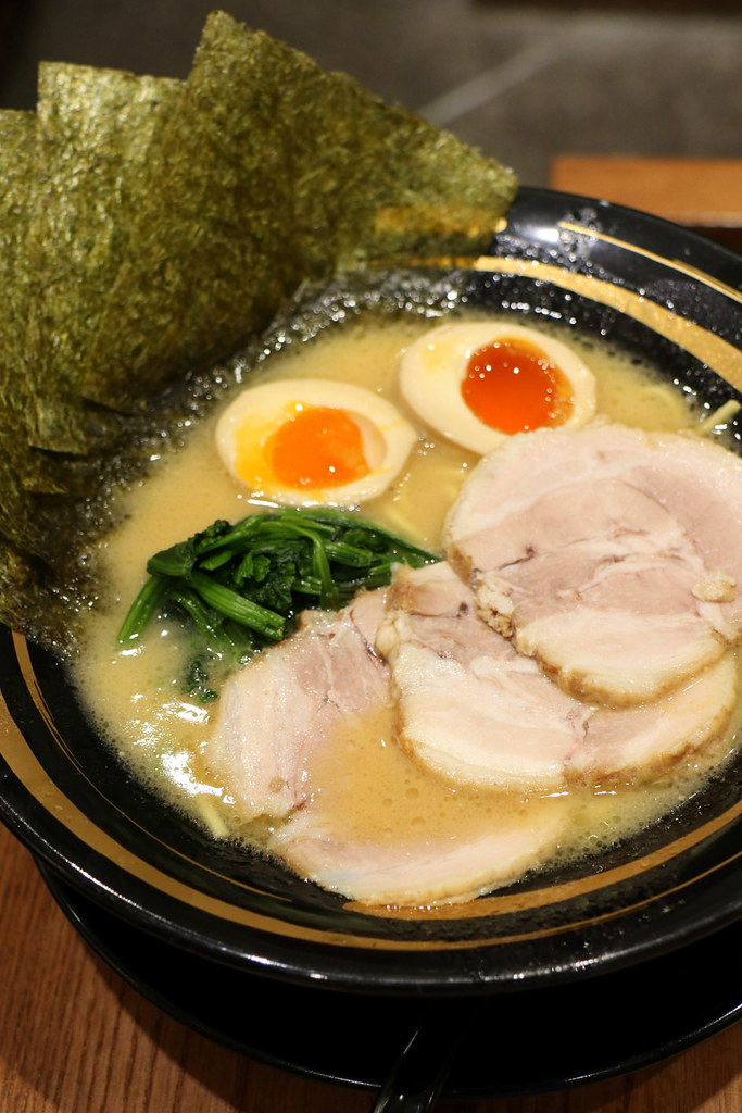 Machida Shouten proudly feature Iekei Ramen
