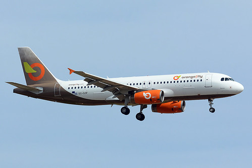 ORANGE2FLY SX-SOF AIRBUS A320-232 BCN/LEBL
