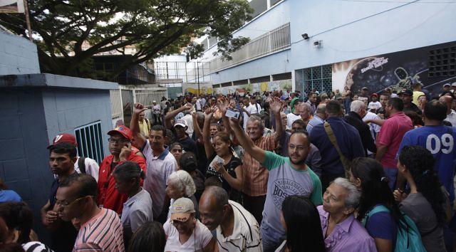 Foram instalados mais de 14 mil centros de votação em toda a Venezuela - Créditos: AVN