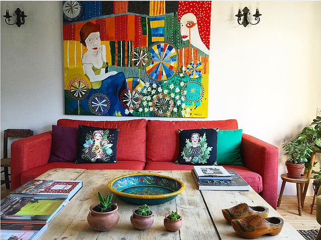 Betina's English Home Is A Crash Course in Bohemian Style