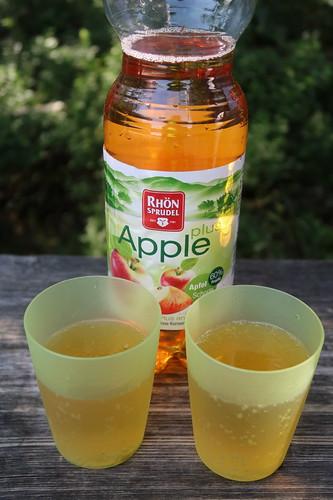 RhönSprudel Apple Plus (am Aussichtsturm im Roten Moor)