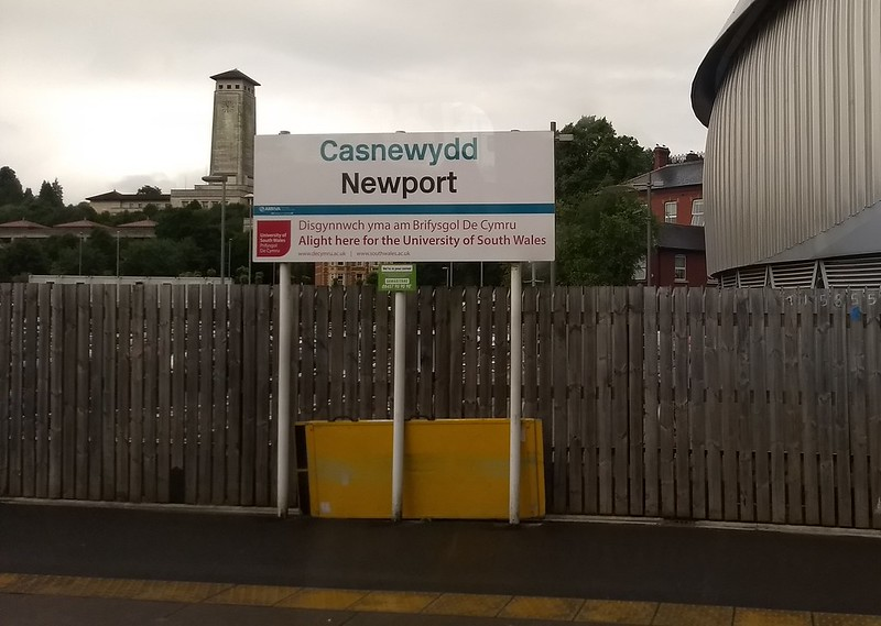 Newport station, Wales
