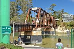 Boardwalk, Santa Cruz, railroad bridge,