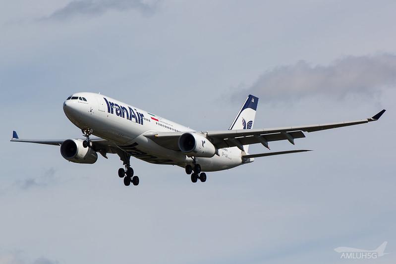 Iran Air - A332 - EP-IJA (1)