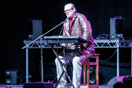 John Shuttleworth by photographer Simon Godley for Deer Shed Festival
