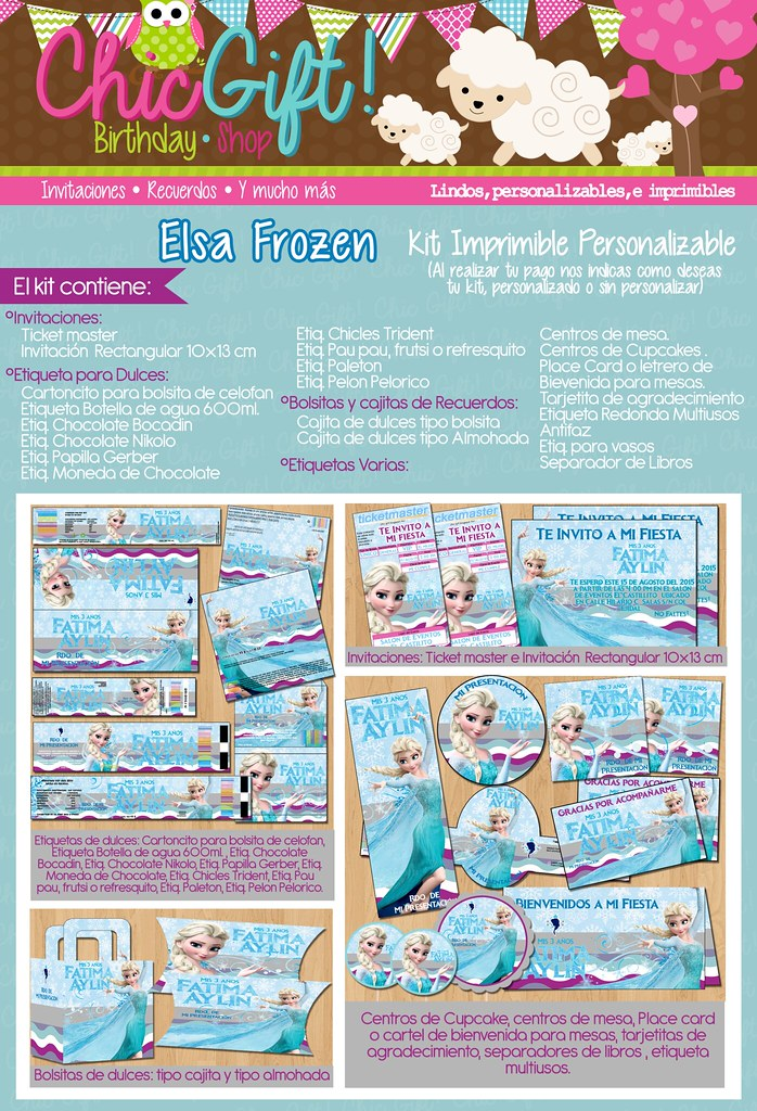 Anuncio Elsa Frozen 14 Agosto
