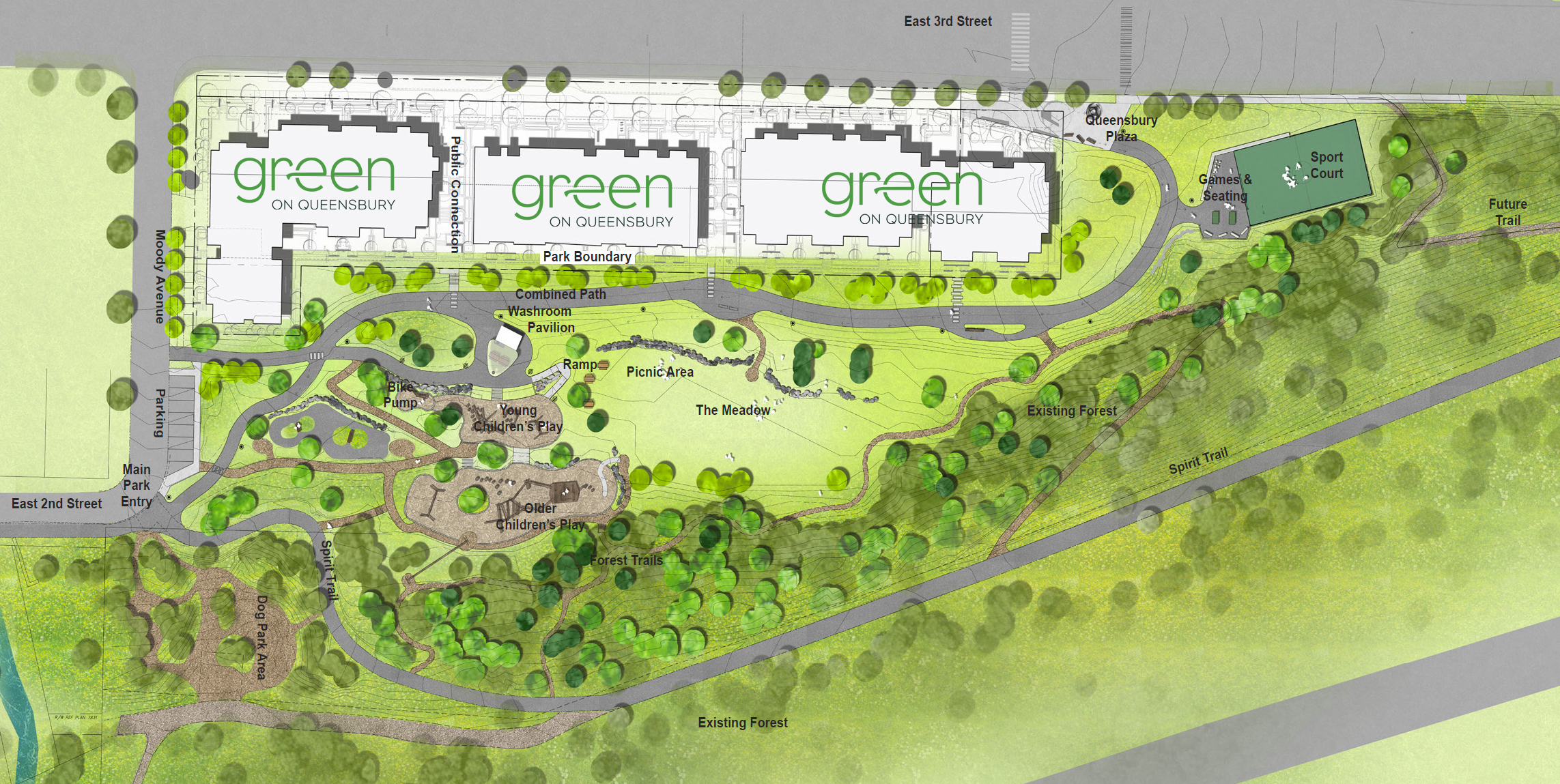 Green on Moodyville Park (final Concept approved)