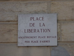 Plaques in Dijon