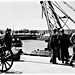 "4 Nov 1940 - No. 11 - ""At The Port"", Tel Aviv, Palestine (now Israel) - rare real photo card - circa 1937"