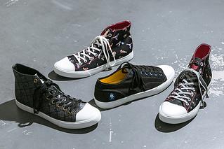 『魔物獵人』、『洛克人』、『快打旋風II』、『魔界村』×UBIQ 卡普空聯名 帆布鞋(スニーカー)