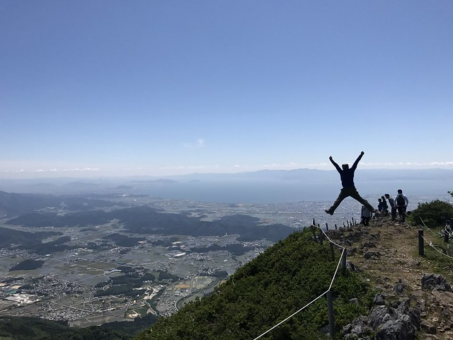 伊吹山 表登山道 琵琶湖展望台 いち
