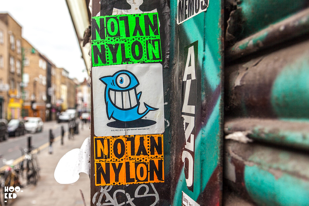 Street Artist Pez  Stickers in London