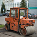 Small photo of Cute Road Roller