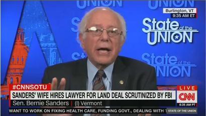 NYT Worries Jane Sanders FBI Probe Will 'Tarnish' Bernie's 'Liberal Luster'