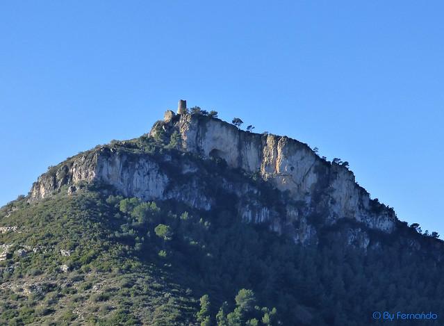 El Castellot - Panorámica  Zona Norte y Sureste (27-12-2015)