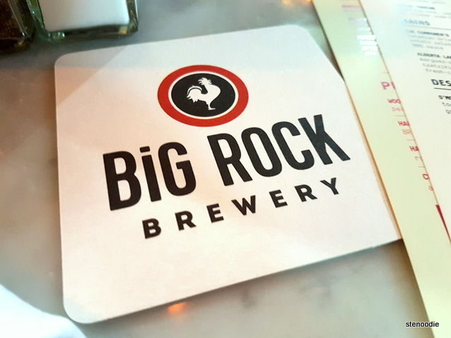 Liberty Commons at Big Rock Brewery coaster