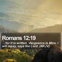 Daily Bible Verse - Romans 12:19