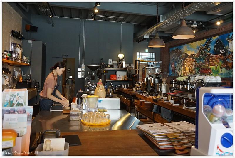 冰河咖啡-店內-飲料區