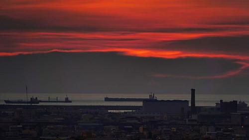 sunset taichungcity