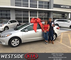 #HappyBirthday to Erick from Orlando Baez at Westside Kia!