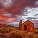 Cabin at Sunset by Jeffrey Sullivan