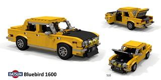 Datsun Bluebird 1600 Sedan - 510