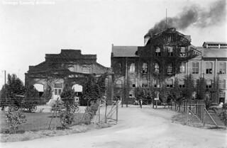 Sugar beet factory and office, South Santa Ana