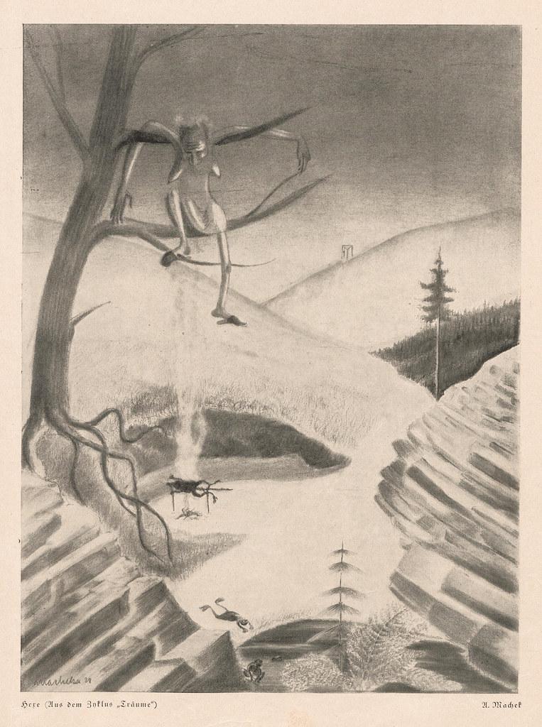 Anton Machek - Witch, 1928